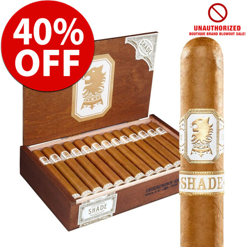 Drew Estate Undercrown Shade Robusto (5x54 / 10 PACK SPECIAL) + 40% OFF RETAIL!