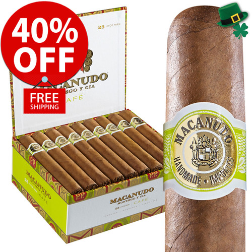 Macanudo Hampton Court Tube (5.5x42 / Box of 25) + 40% OFF RETAIL! + FREE SHIPPING ON YOUR ENTIRE ORDER!