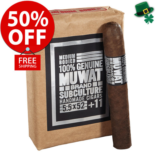 Drew Estate MUWAT 760 (7x60 / Bundle 10) + 50% OFF RETAIL! + FREE SHIPPING ON YOUR ENTIRE ORDER!