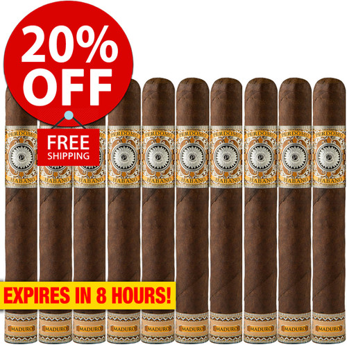 Perdomo Habano Bourbon Barrel Aged Maduro Epicure (6x54 / 10 Pack) + 20% OFF RETAIL! + FREE SHIPPING ON YOUR ENTIRE ORDER!