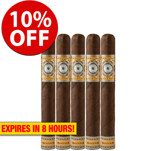 Perdomo Habano Bourbon Barrel Aged Maduro Epicure (6x54 / 5 Pack) + 10% OFF RETAIL!