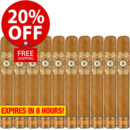 Perdomo Habano Bourbon Barrel Aged Connecticut Epicure (6x54 / 10 Pack) + 20% OFF RETAIL! + FREE SHIPPING ON YOUR ENTIRE ORDER!