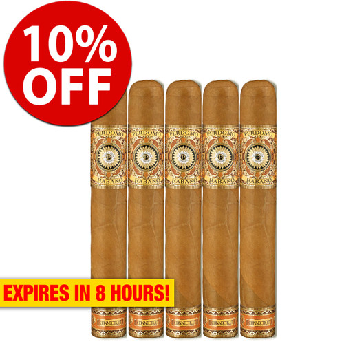 Perdomo Habano Bourbon Barrel Aged Connecticut Epicure (6x54 / 5 Pack) + 10% OFF RETAIL!