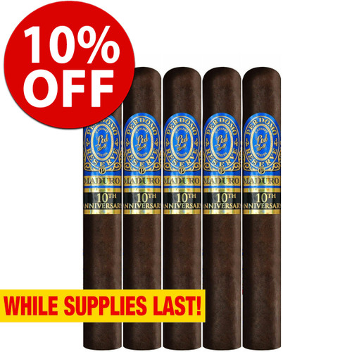 Perdomo Reserve 10th Anniversary BP Maduro Epicure (6x54 / 5 Pack) + 10% OFF RETAIL!