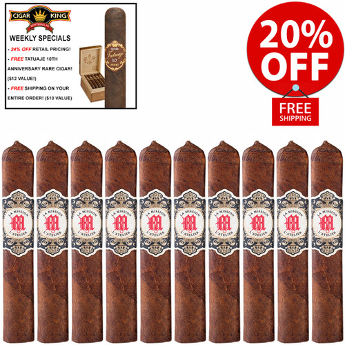 *SOLD OUT* Tatuaje La Mission L'Atelier 1959 (4.75x52 / 10 Pack) + 20% OFF! + FREE RARE TATUAJE 10TH ANNIVERSARY CIGAR ($10 VALUE!) + FREE SHIPPING ON YOUR ENTIRE ORDER!
