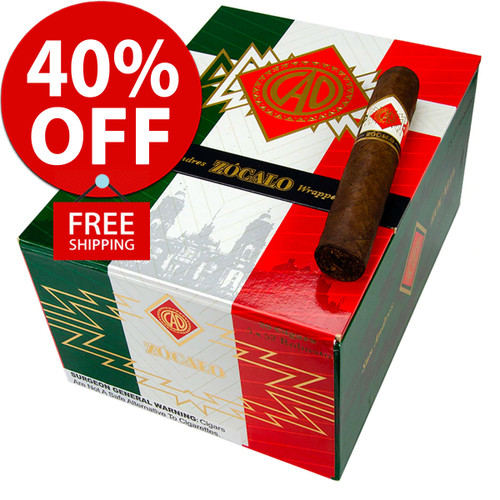 CAO Zocalo San Andres Toro (6.2x54 / Box of 20) + 40% OFF RETAIL PRICING! + FREE SHIPPING ON YOUR ENTIRE ORDER!