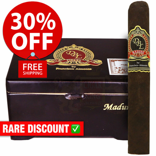 DBL Cigars Maduro Big Papi (6x54 / 10 PACK SPECIAL) + 30% OFF RETAIL PRICING! + FREE SHIPPING ON YOUR ENTIRE ORDER!