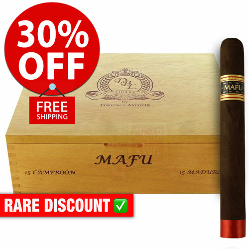 DBL Cigars MAFU Maduro Toro (6x54 / 10 PACK SPECIAL) + 30% OFF RETAIL! + FREE SHIPPING ON YOUR ENTIRE ORDER!