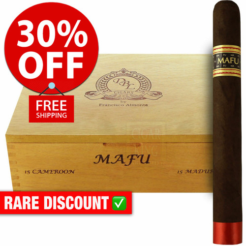 DBL Cigars MAFU Maduro Gordo (8x60 / 10 PACK SPECIAL) + 30% OFF RETAIL PRICING! + FREE SHIPPING ON YOUR ENTIRE ORDER!