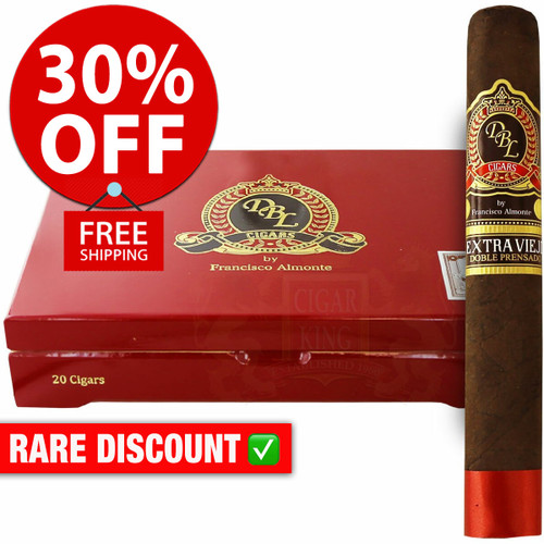 DBL Cigars Extra Viejo Prensado Gordo Maduro (6x60 / 10 PACK SPECIAL) + 30% OFF RETAIL PRICING! + FREE SHIPPING ON YOUR ENTIRE ORDER!