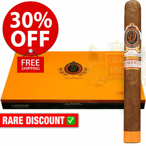 DBL Cigars 2nd Generacion Reserva Exclusiva Limited Edition Toro (6.5x52 / 10 PACK SPECIAL) + 30% OFF RETAIL PRICING! + FREE SHIPPING ON YOUR ENTIRE ORDER!