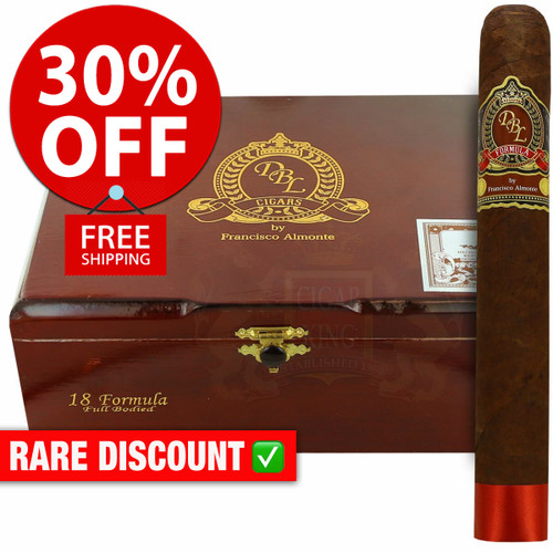 DBL Cigars Formula Sumatra Gorda (7x60 / 10 PACK SPECIAL) + 30% OFF RETAIL! + FREE SHIPPING ON YOUR ENTIRE ORDER!