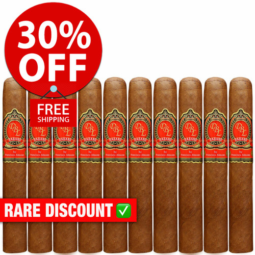 DBL Cigars El Rey VI Habano Robusto (5x50 / 10 PACK SPECIAL) + 30% OFF RETAIL PRICING! + FREE SHIPPING ON YOUR ENTIRE ORDER!