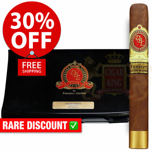 DBL Cigars 35th Anniversary Limited Edition (6.25x56 / 10 PACK SPECIAL) + 30% OFF RETAIL PRICING! + FREE SHIPPING ON YOUR ENTIRE ORDER!