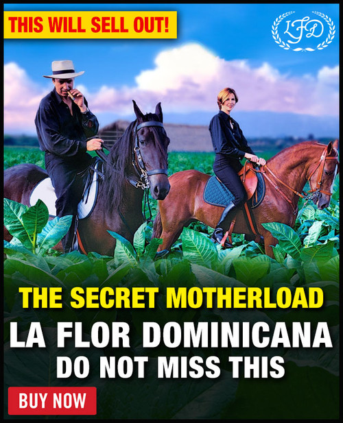 La Flor Dominicana Cigars 2021 Secret Motherload Flight (Assorted Sizes) + FREE SHIPPING ON YOUR ENTIRE ORDER!