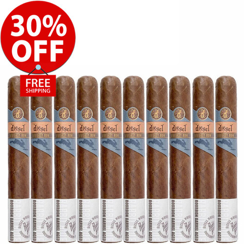 Diesel Whiskey Row Toro (6x54 / 10 PACK SPECIAL) + 30% OFF RETAIL! + FREE SHIPPING ON YOUR ENTIRE ORDER!