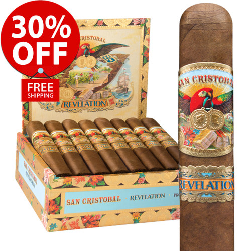 San Cristobal Revelation Legend Toro (6.2x52 / 10 PACK SPECIAL) + 30% OFF RETAIL! + FREE SHIPPING ON YOUR ENTIRE ORDER!