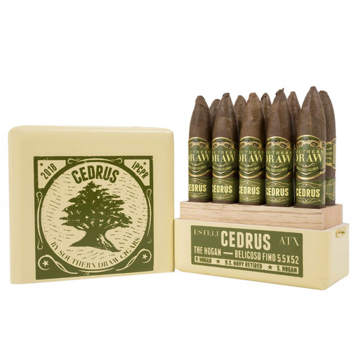 Southern Draw Cedrus Hogan Limited Edition (5.5x52 / 5 Pack) + FREE SHIPPING ON YOUR ENTIRE ORDER!