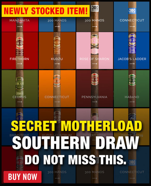 Southern Draw Cigars 2021 Secret Motherload Flight (Assorted Sizes) + FREE SHIPPING ON YOUR ENTIRE ORDER!