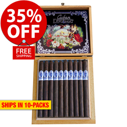 Cuban Diplomat Lancero By AJ Fernandez Limited Edition (7x38 / 10 PACK SPECIAL) + 35% OFF RETAIL! + FREE SHIPPING ON YOUR ENTIRE ORDER!