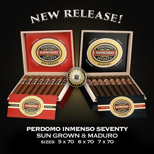 Perdomo Inmenso Seventy Maduro Robusto (5x70 / Box 16)