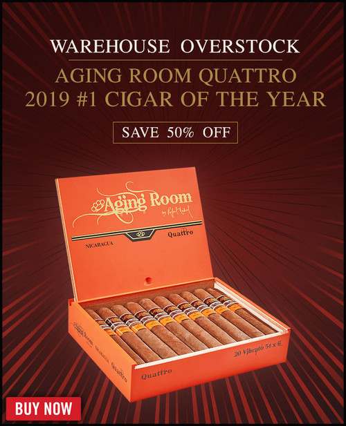 Aging Room Quattro Nicaragua Vibrato (6x52 / Pack 20) + 50% OFF RETAIL! + FREE SHIPPING ON YOUR ENTIRE ORDER!