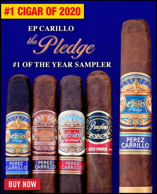 E.P. Carrillo The Pledge Cigar of The Year Sampler (10 PACK SPECIAL) + FREE SHIPPING ON YOUR ENTIRE ORDER!