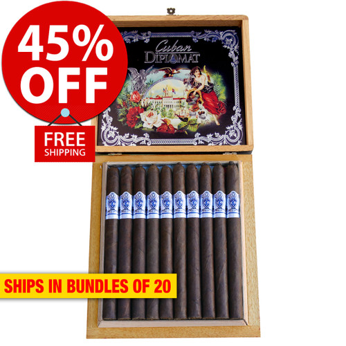 Cuban Diplomat Lancero By AJ Fernandez Limited Edition (7x38 / Bundle 20) + 45% OFF RETAIL! + FREE SHIPPING ON YOUR ENTIRE ORDER!