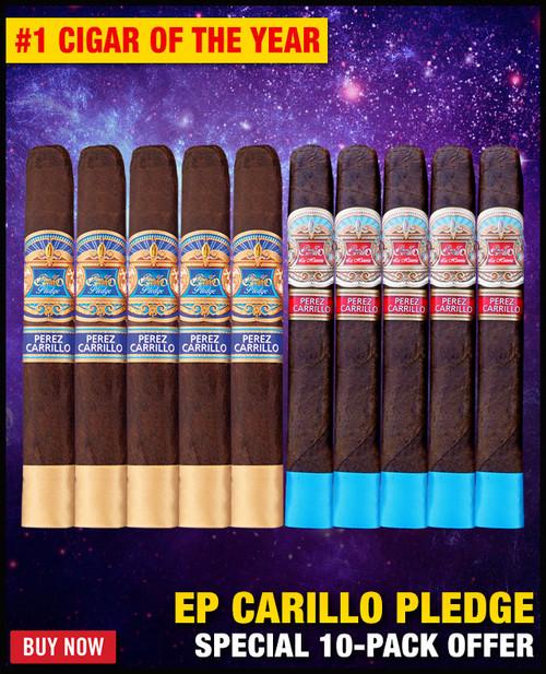 E.P. Carrillo The Pledge vs La Historia (10 PACK SPECIAL) + FREE SHIPPING ON YOUR ENTIRE ORDER!