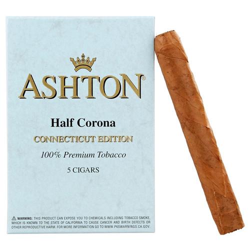 Ashton Half Corona Connecticut (4.125x37 / Tin of 5)