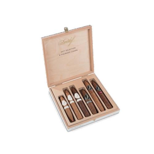 Davidoff Gift Selection Figurado Cigars (Box Of 6)