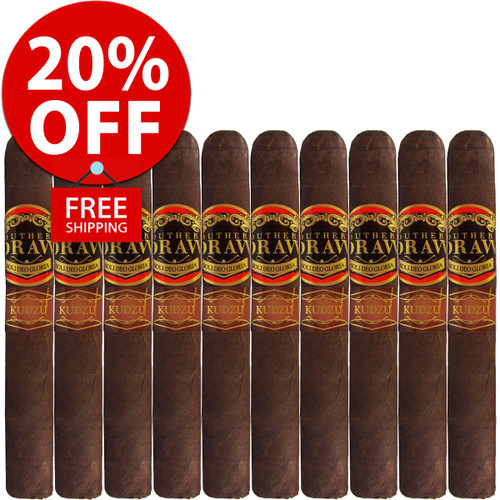 Southern Draw Kudzu Oscuro Robusto (5.5x54 / 10 PACK SPECIAL) + 20% OFF RETAIL! + FREE SHIPPING ON YOUR ENTIRE ORDER!