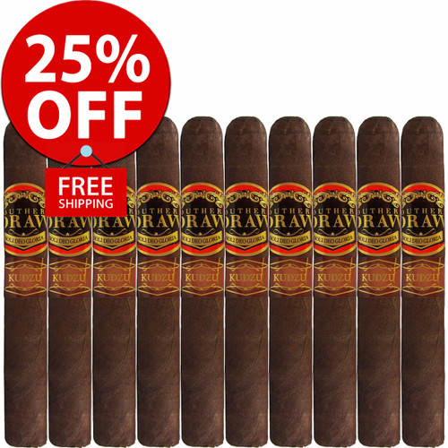 Southern Draw Kudzu Oscuro Lancero (6.5x40 / 10 PACK SPECIAL) + 25% OFF RETAIL! + FREE SHIPPING ON YOUR ENTIRE ORDER!