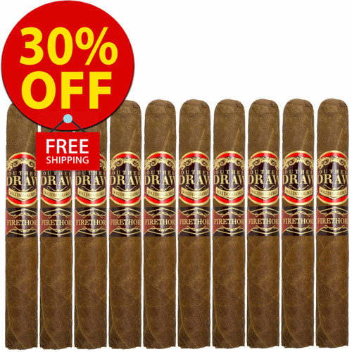 Southern Draw Firethorn Habano Gordo (6.5x60 / 10 PACK SPECIAL) + 30% OFF RETAIL! + FREE SHIPPING ON YOUR ENTIRE ORDER!