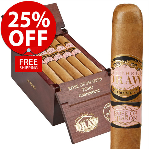 Southern Draw Rose of Sharon Robusto (5.5x54 / 10 PACK SPECIAL) + 25% OFF RETAIL! + FREE SHIPPING ON YOUR ENTIRE ORDER!