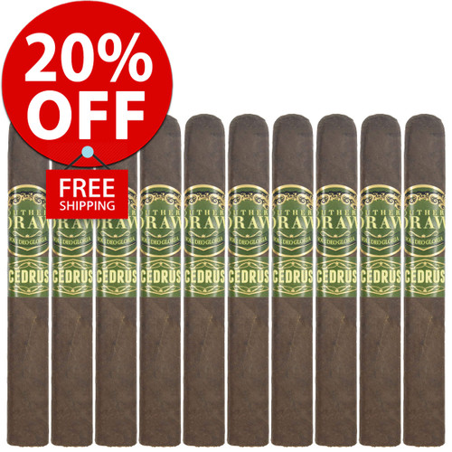 Southern Draw Cedrus Toro (6x52 / 10 PACK SPECIAL) + 20% OFF RETAIL! + FREE SHIPPING ON YOUR ENTIRE ORDER!