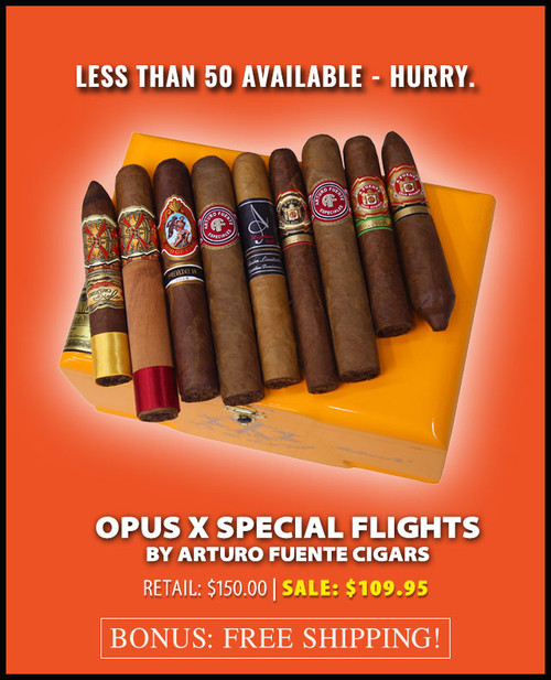 *SOLD OUT* Arturo Fuente Rare Opus X Special Flight (9 CIGAR SPECIAL) + FREE SHIPPING ON YOUR ENTIRE ORDER!