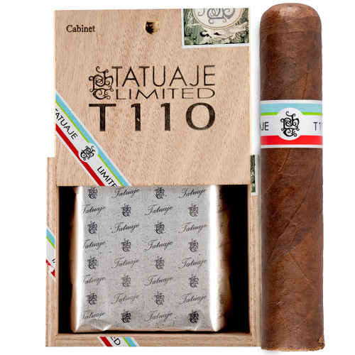 *SOLD OUT* Rare Tatuaje Limited Edition T110 Habano (4.37x52 / Box 25) + FREE SHIPPING ON YOUR ENTIRE ORDER!