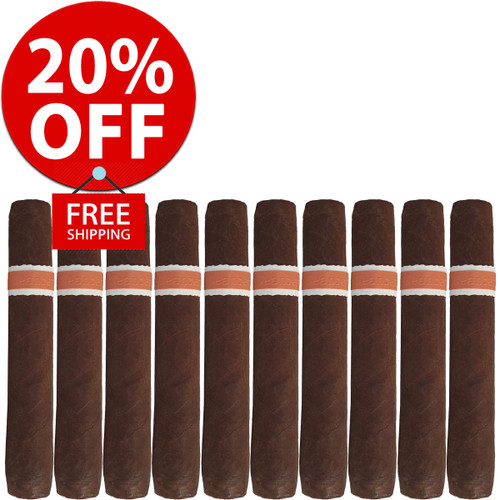 RoMa Craft Neanderthal JCF Robusto (5.25x50 / 10 PACK SPECIAL) + 20% OFF RETAIL! + FREE SHIPPING ON YOUR ENTIRE ORDER!