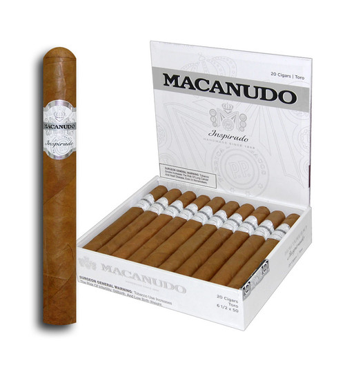 Macanudo Inspirado White Toro (6.5x50 / Box 20)