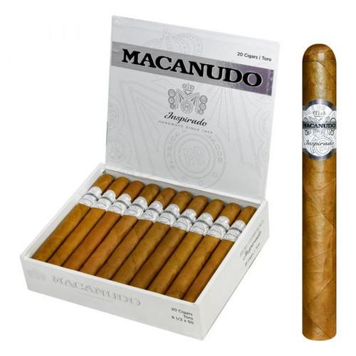 Macanudo Inspirado White Toro (6.5x50 / 10 Pack)
