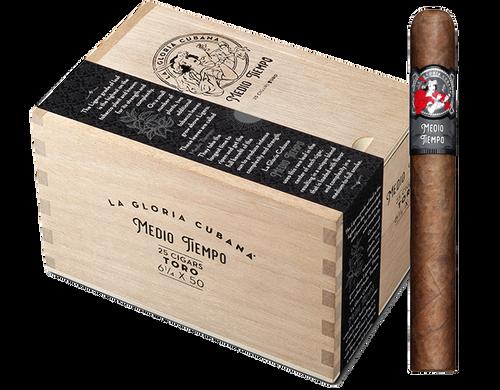 La Gloria Cubana Medio Tiempo Toro (6x50 / Box 25)