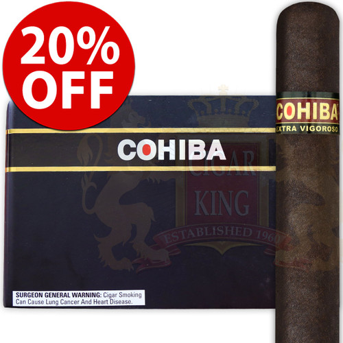 Cohiba XV Extra Vigoroso (6x52 / 5 Pack) + 20% OFF RETAIL!