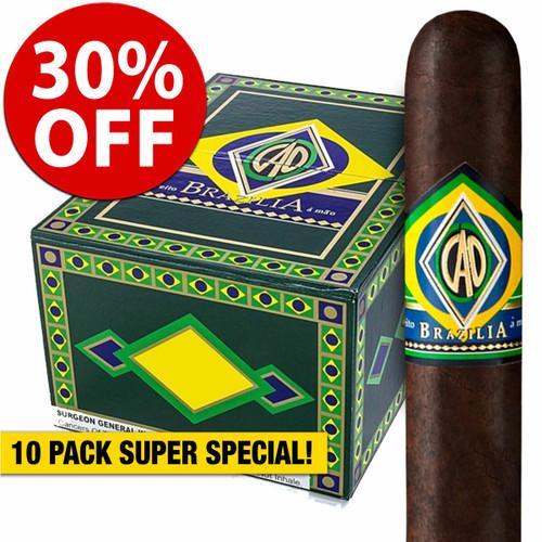 CAO Brazilia Samba (6.2x54 / 10 PACK SPECIAL) + 30% OFF RETAIL PRICING!
