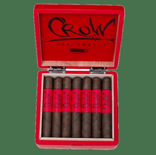 Blackbird Cigar Company San Andres Crow Gran Toro (6x54/ Box 21)