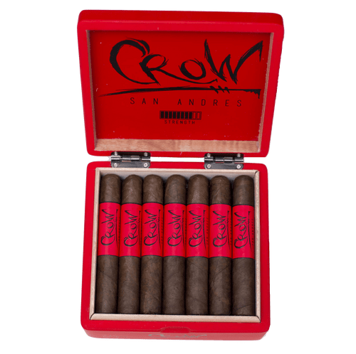 Blackbird Cigar Company San Andres Crow Gran Toro (6x54/ 5 Pack)