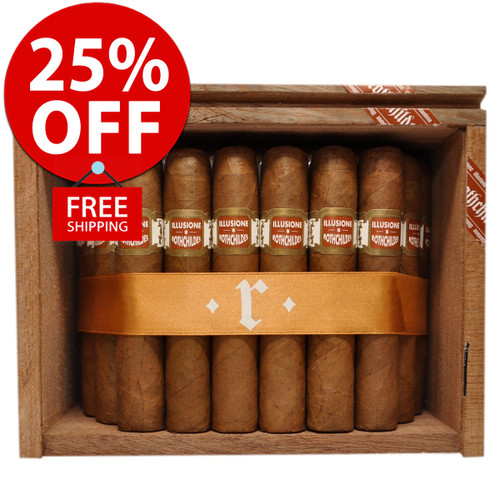 Illusione Rothchildes Connecticut  (4.5x50 / 10 PACK SPECIAL) + 25% OFF RETAIL! + FREE SHIPPING ON YOUR ENTIRE ORDER!