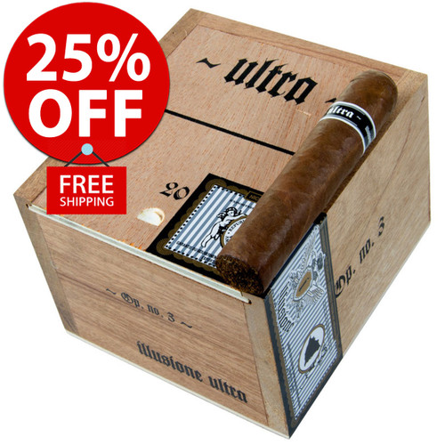 Illusione Ultra No. 3 (4.25x50 / 10 PACK SPECIAL) + 25% OFF RETAIL! + FREE SHIPPING ON YOUR ENTIRE ORDER!