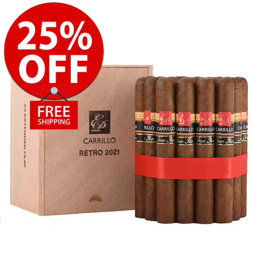 E.P. Carillo Short Run Retro 2021 Extended Play (6x52 / 10 PACK SPECIAL) + 25% OFF RETAIL! + FREE SHIPPING ON YOUR ENTIRE ORDER!