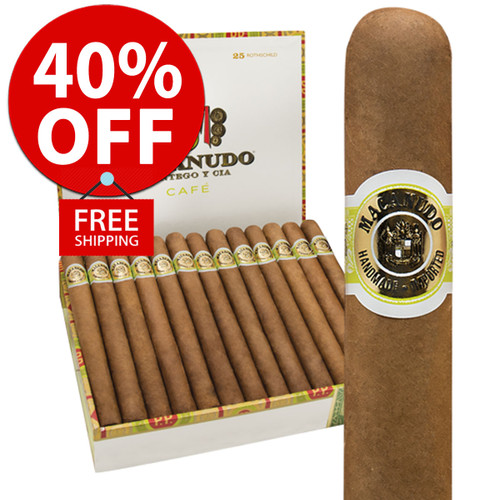 Macanudo Tudor Cafe (6x52 / 10 PACK SPECIAL) + 40% OFF RETAIL! + FREE SHIPPING ON YOUR ENTIRE ORDER!